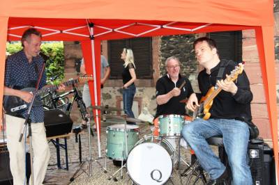 CDU-Sommerfest am 26.7.2014 an der Reinhardskirche - Digital Blues Band